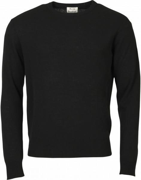 Men's Acne Studios Knit Sweater Niale Black