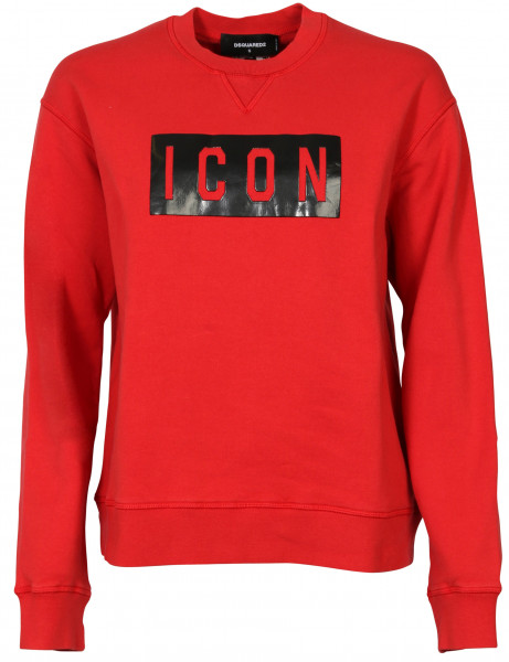 WOMEN'S D2 DSQUARED SWEATSHIRT RED