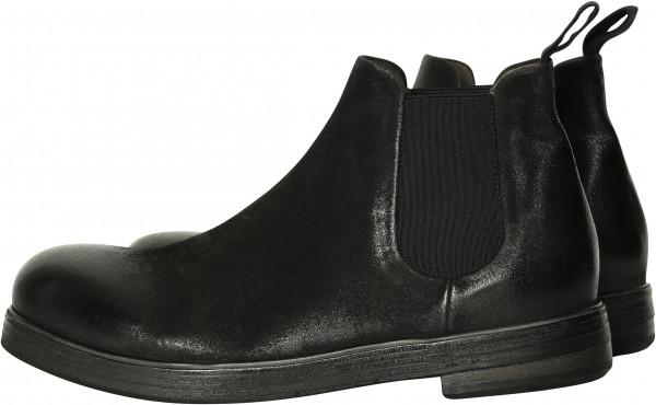 Men's Marsèll Chelsea Boots Vintage Black Deer Leather