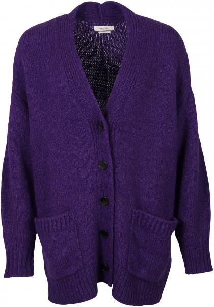 Women's Isabel Marant Cardigan Scott Purple