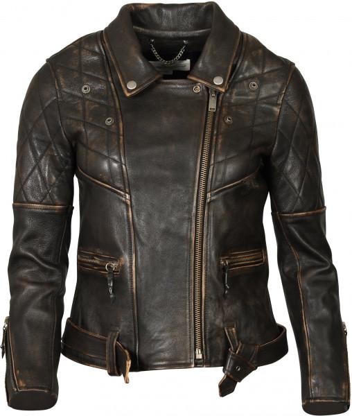 Women's Golden Goose Leatherjacket Chiodo Black