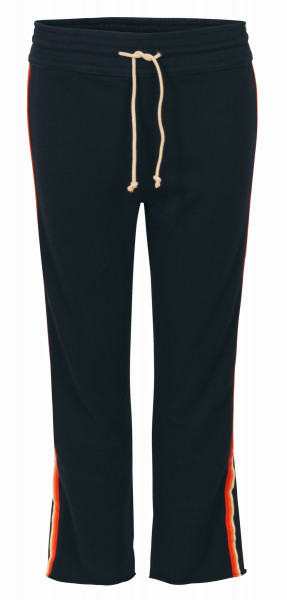 MOTHER Trackpant Sweathose navy Streifen