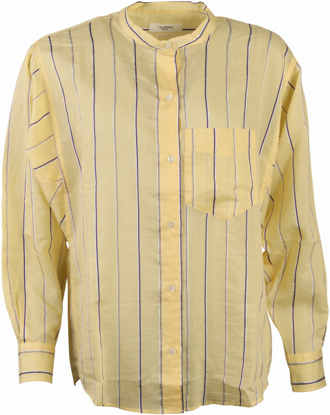Women's Isabel Marant Etoile Shirt Satchell Yellow Striped
