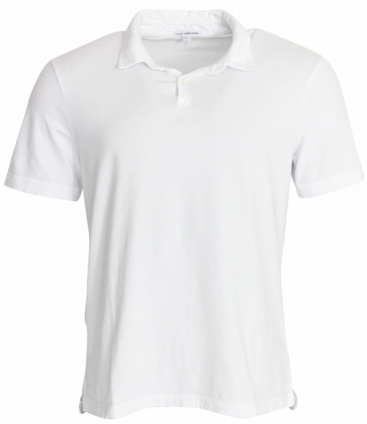 James Perse Men´s Polo Shirt MSX3337 weiß