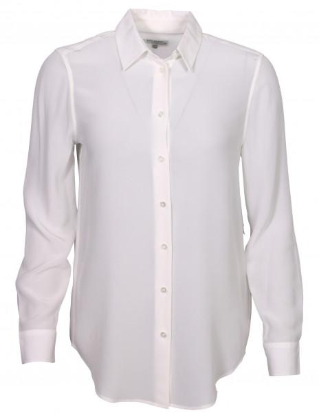 Women's Equipment Essentiel Silk Shirt White