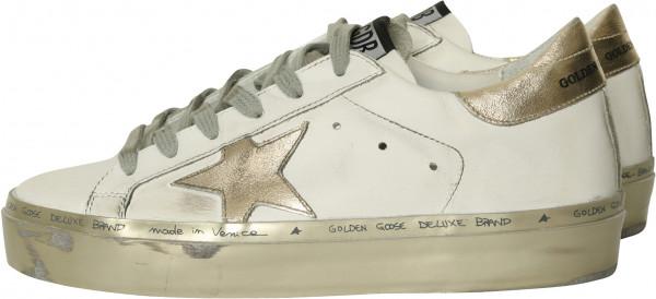 Women's Golden Goose Hi Star White/Gold