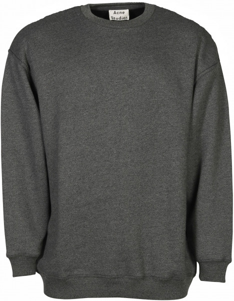 Women's Acne Studios Sweatshirt Fiene Reverse Label Black