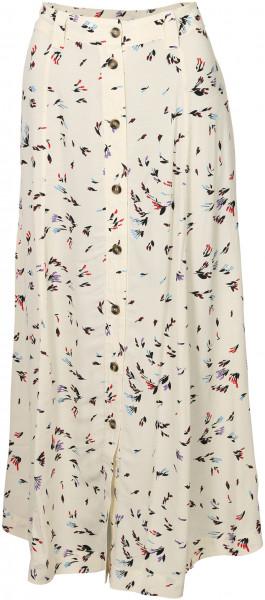 Women's Ganni Skirt Cream Printed