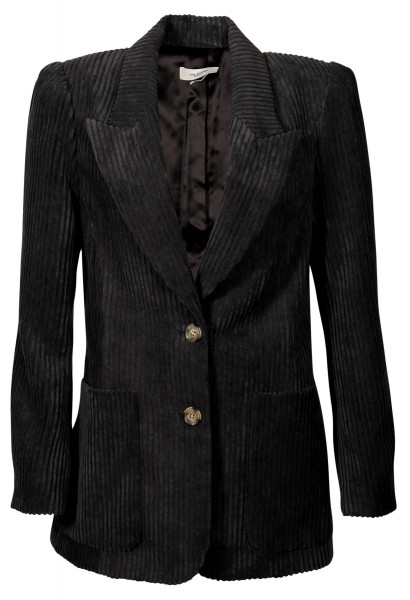 Women's Isabel Marant Étoile Corduroy Jacket Dake Faded Black