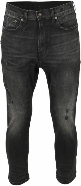 Men's R13 Jeans Ankle Drop Black Washed