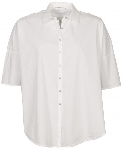Women's Transit Par Such Cotton Shirt White