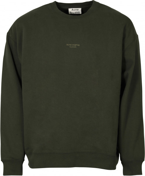 Men's Acne Studios Sweatshirt Femke Deep Green