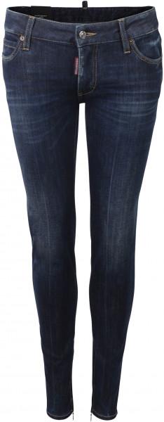 Dsquared D2 Super Skinny Jeans blau