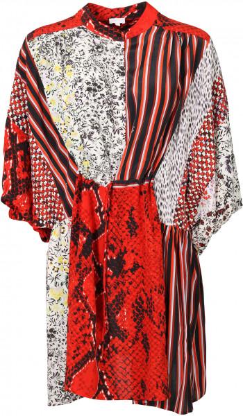 Women's Lala Berlin Dress Daffie Multi Patchwork Printed