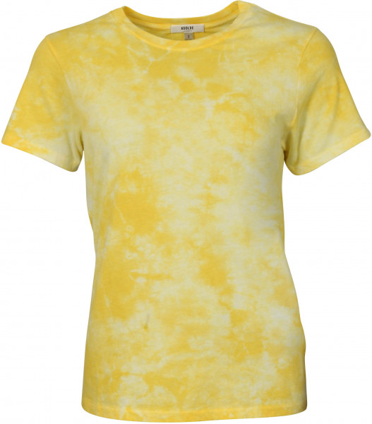 Women's Agolde T-Shirt Mariam White Yellow