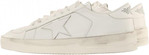 Men's Golden Goose Sneakers Stardan White Leather