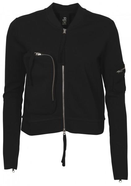 Women's Thom Krom Sweat Bomberjacket Black