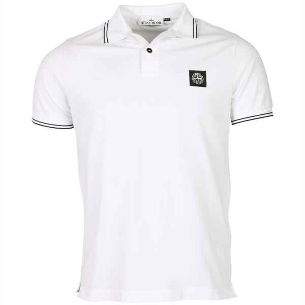 Men's Stone Island Poloshirt White