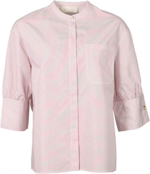Women's FWSS Blouse Oline Red Stripe