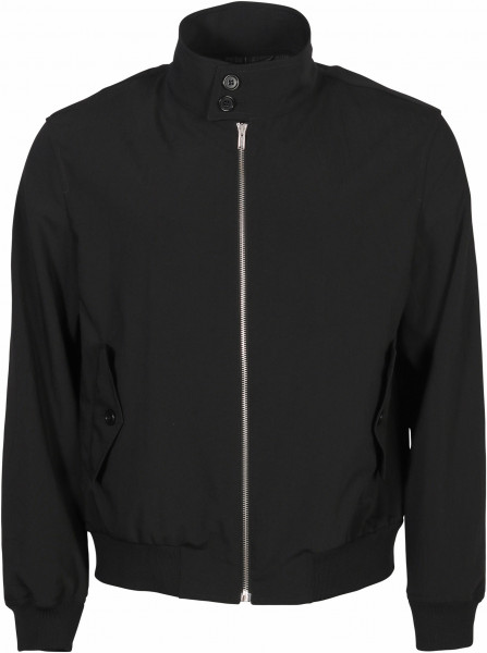 Men's Helmut Lang Crushed Jacket Harrington Black