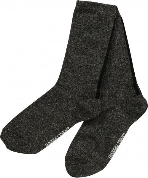 Women's Isabel Marant Lurex Socks Lily Black
