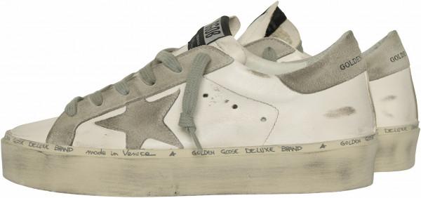 Women's Golden Goose Sneaker Hi Star White/Grey