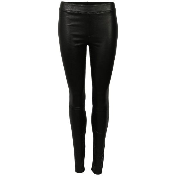 Women's Helmut Lang Leatherpant black
