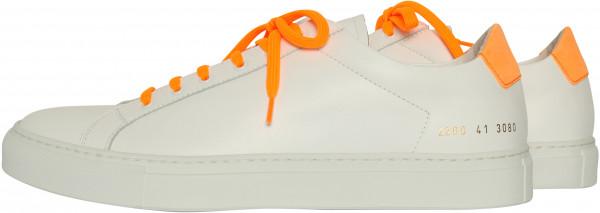 Men's Common Projects Sneaker Retro Low Fluo White/Orange