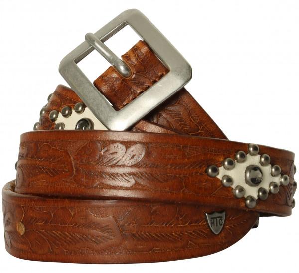 Women's HTC Rough Rock Belt Cognac