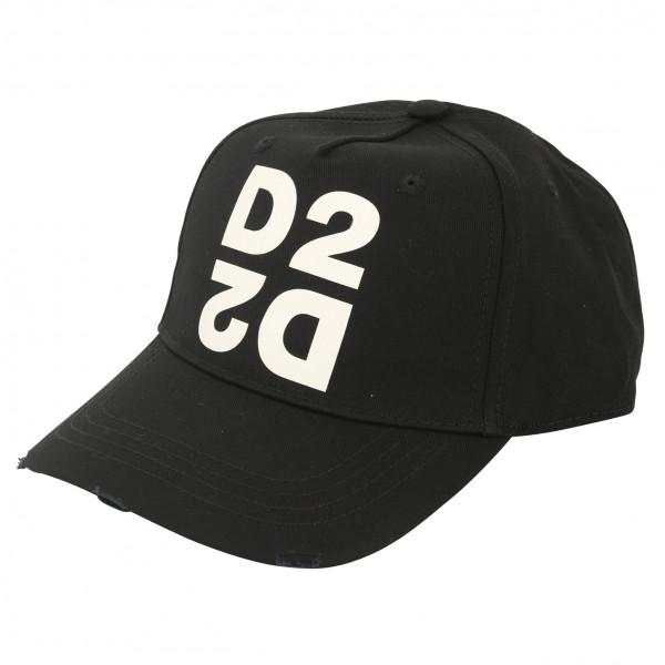 Dsquared Baseball Cap Black Printed