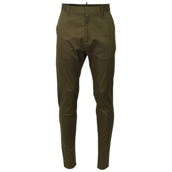 Men's D2 Dsquared Chino Pants olive