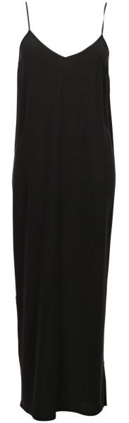 Women's Jadicted Silk Slip Dress Black