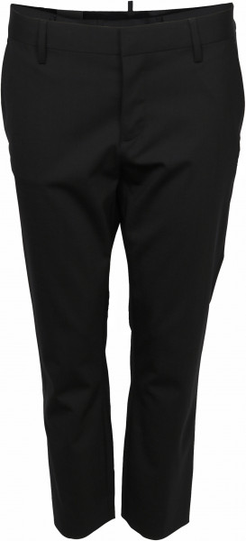 Women's Dsquared Light Wool Trouser Cool Girl Cropped Black