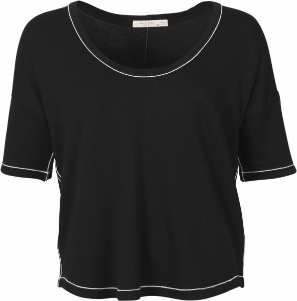 Women's Rag & Bone T-Shirt Marlon Black