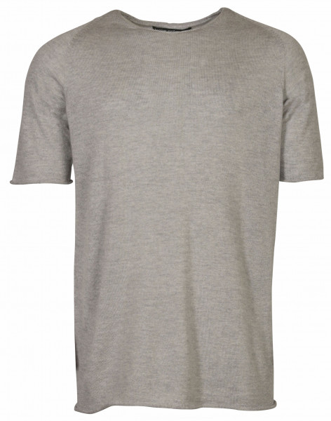 Men's Hannes Roether Cashmere T-Shirt Light Grey