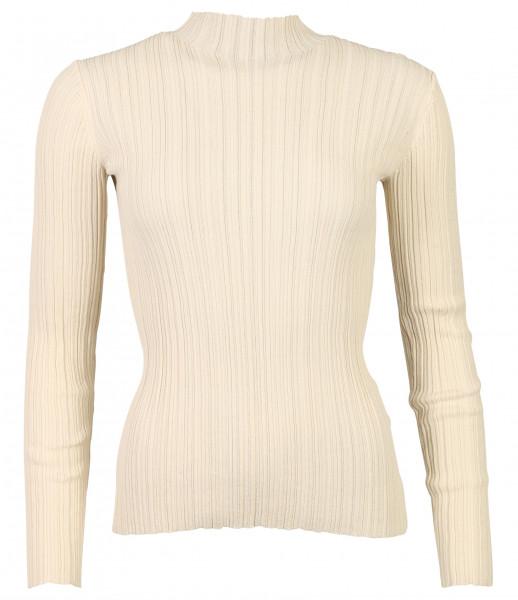 Women's Acne Studios Turtle Rib Sweater Kana White