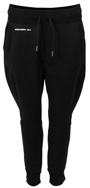Women's Dsquared Sweatpant Black Printed