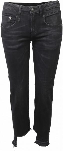 R13 Boy Straight Jeans schwarz