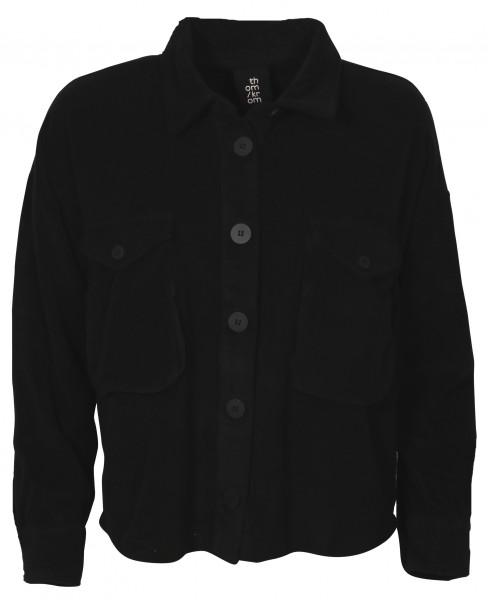 Women's Thom Krom Terry Overshirt Black
