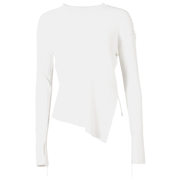 Helmut Lang Ripp Pullover offwhite