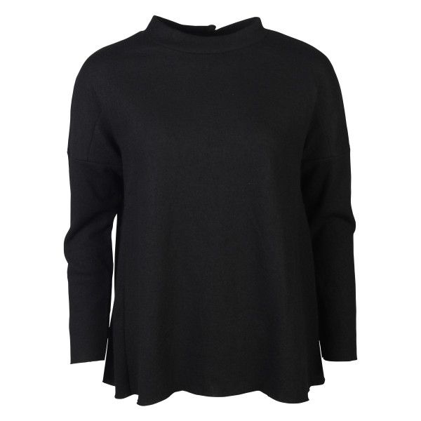 Women's Hannes Roether Sweater schwarz