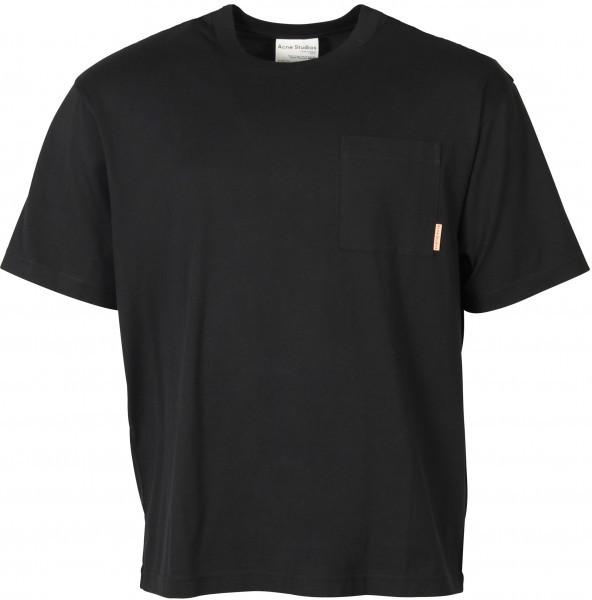 Men's Acne Studios Extorr Pocket T-Shirt Black