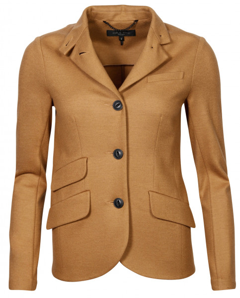 Women's Rag & Bone Tight Wool Jacket Slade Dark Camel