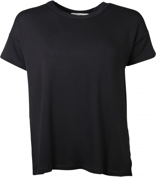 Rag & Bone T-Shirt Split schwarz