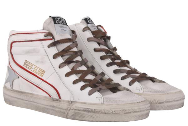 Men's Golden Goose Sneaker Slide White
