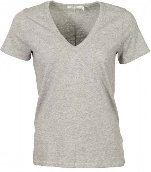 Women's Rag & Bone V T-Shirt Heathergrey