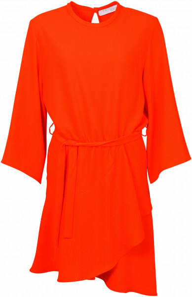 Women's Iro Dress Layer10 orange red