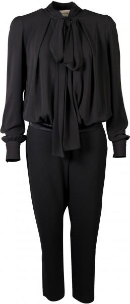 Shirtaporter Overall Jumpsuit Schluppe schwarz