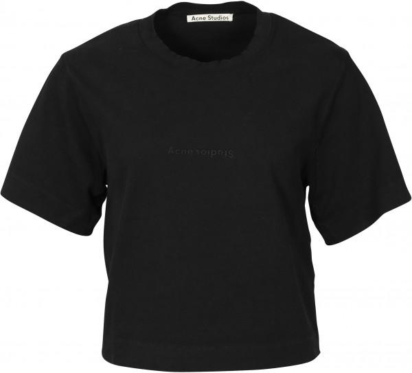Women's Acne Studios T-Shirt Ecylea Black