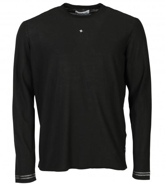 Men's Stone Island Knit Sweater Black